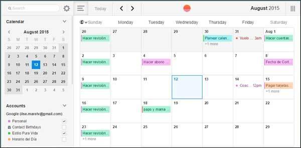 Sunrise, un App de #productividad para trabajadores #independientes
