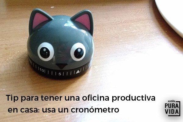 Tip de productividad: usa un cronómetro para ser más eficiente con tu tiempo