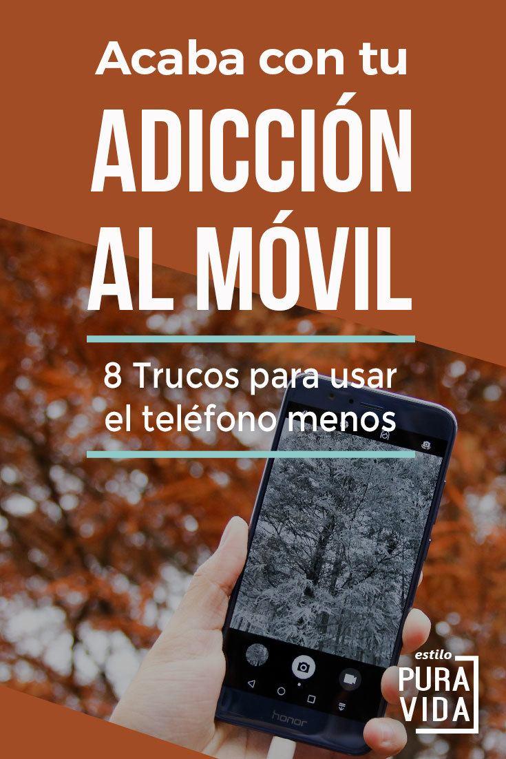 ¿Adicta al celular? Aquí hay 8 trucos para usar el teléfono menos y recuperar tu vida.